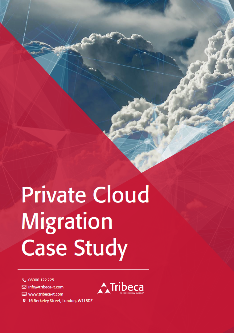 Private Cloud Migration Case Study