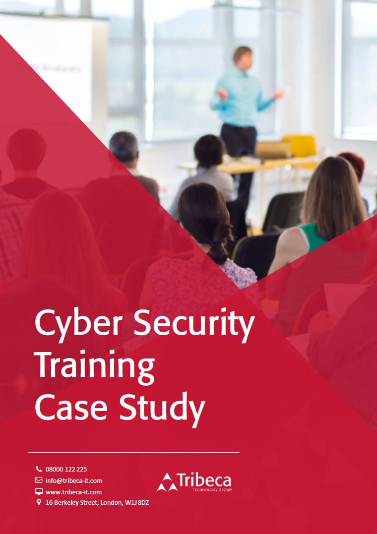 End User Cyber Security Training – Case Study